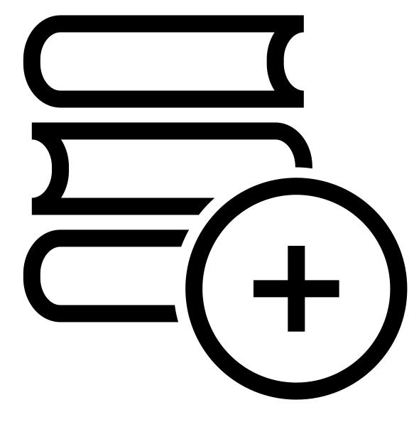 Books - Copyright The Noun Project - b a r z i n
