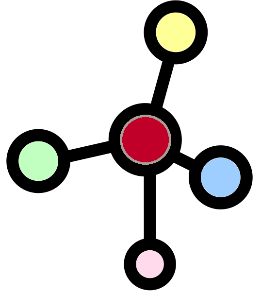 molecules - copyright The Noun Project by Atif Arshad