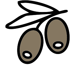 Olives - Copyright The Noun Project by Evgenii Likhachov